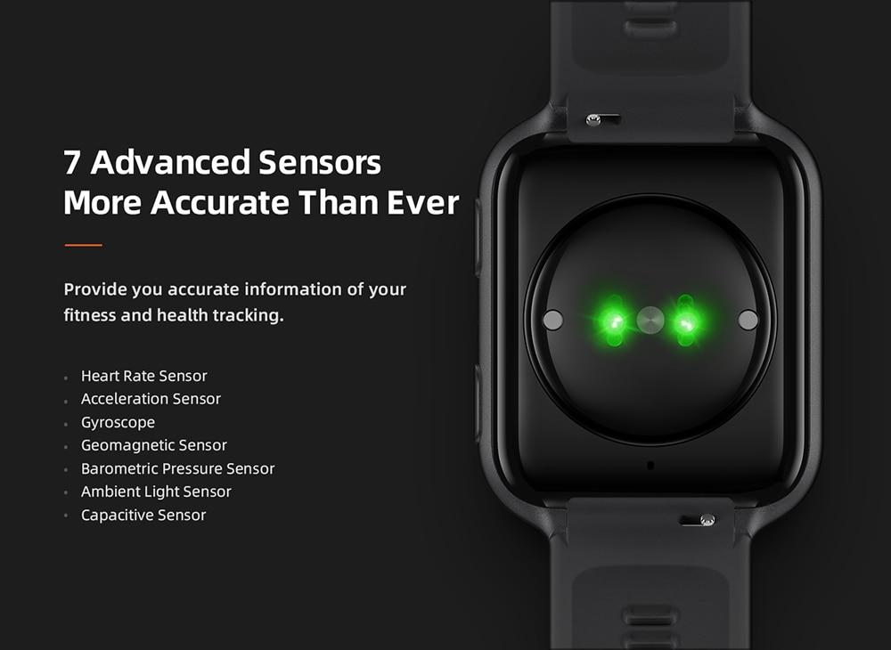 70mai Smart Watch Saphir Bluetooth GPS Sport Heart Rate Monitor 11