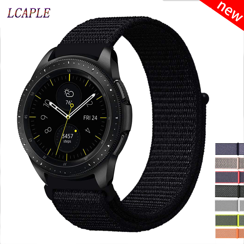 Nylon Strap For Samsung Galaxy Watch 46mm/active 2/42mm Gear S3 Frontier 22/20mm Watch Band Amazfit Bip Huawei Watch Gt 2 Strap