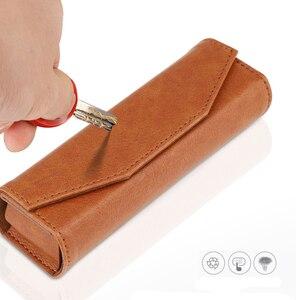 Image 3 - ポータブル収納袋革保護ケースハンドバッグ DJI OSMO ポケットアクションカメラアクセサリー用のバックルをぶら下げと 3 色