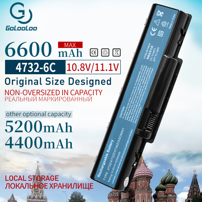 4400mah Laptop Battery For ACER AS09A31 AS09A41 AS09A51 AS09A61 AS09A71 AS09A73 AS09A75 AS09A90 AS09A56 5732 4732 5516 5517
