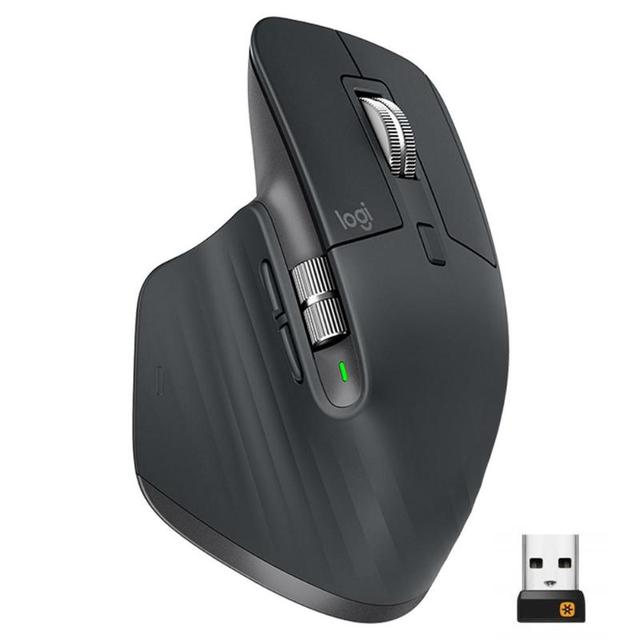 Logitech MX Master3 2.4GHz Bluetooth Gaming Mouse 4000DPI Adjustable Wireless Dual Mode 1