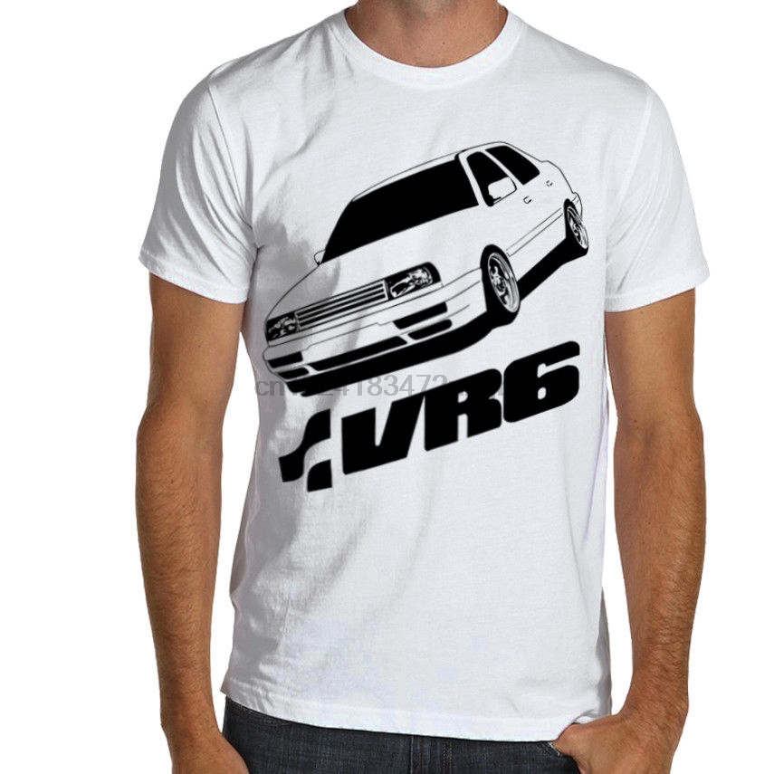 Summer Style Men Tee Shirt Jetta Vento MK3 VR6 Premium Soft Cotton T-Shirt Multi Color S-3XL