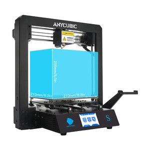 Image 4 - ANYCUBIC I3 Mega /S/X/sıfır 3D yazıcı tam Metal artı boyutu masaüstü çerçeve Impresora 3D Drucker DIY kiti Gadget ekstruder