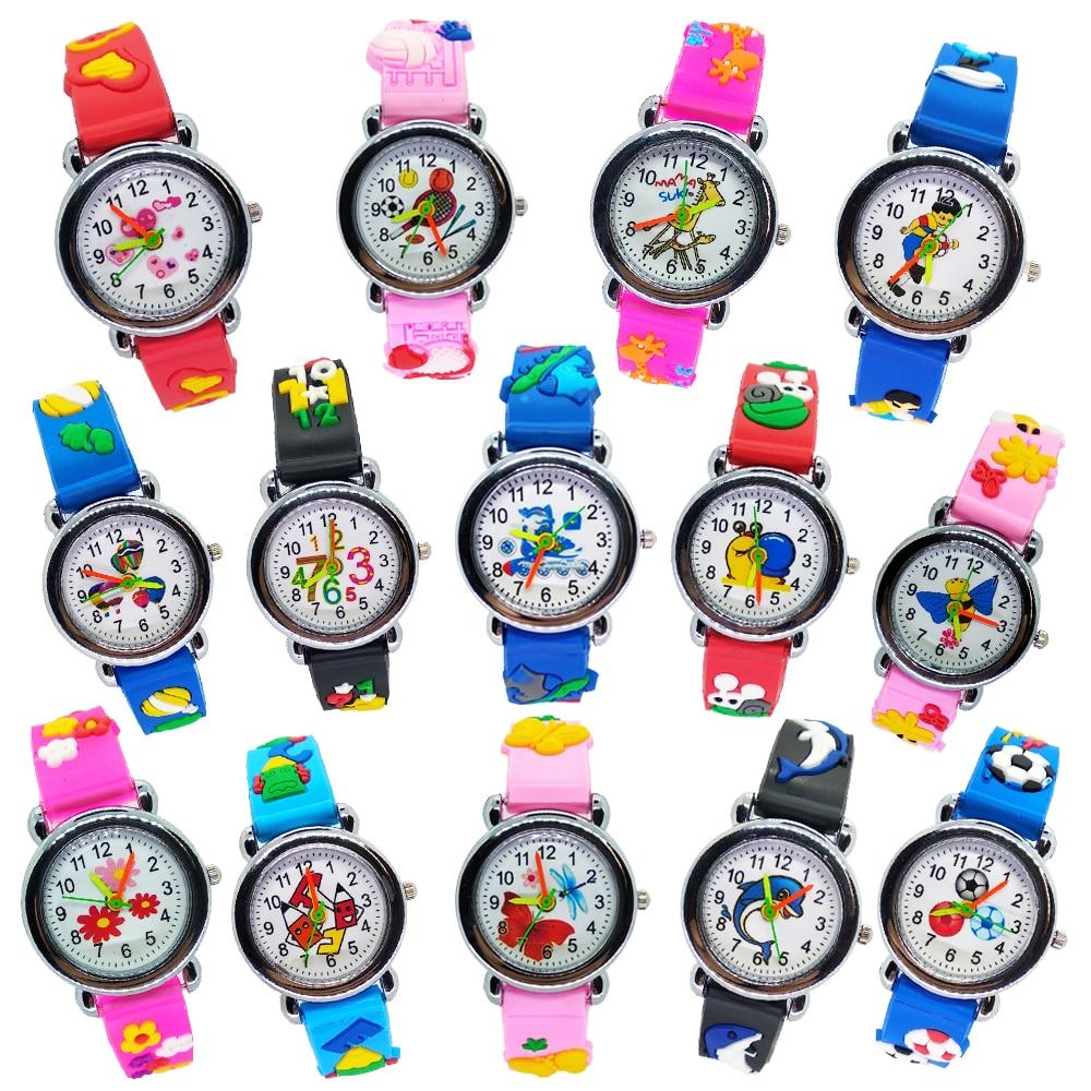 Car Rubber Strap Spiderman Children Watch Kids Cartoon Watches Sports Quartz Wristwatch Boys Clock Montre Enfant Reloj Infantil