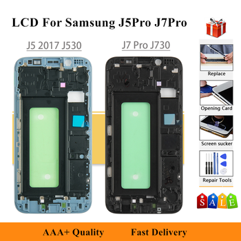 LCD For SAMSUNG GALAXY J5 Pro 2017 J530 J530F/Y/G/DS LCD Display touch Screen Digitizer For Samsung J7 Pro 2017 SM-J730GM J730FM image