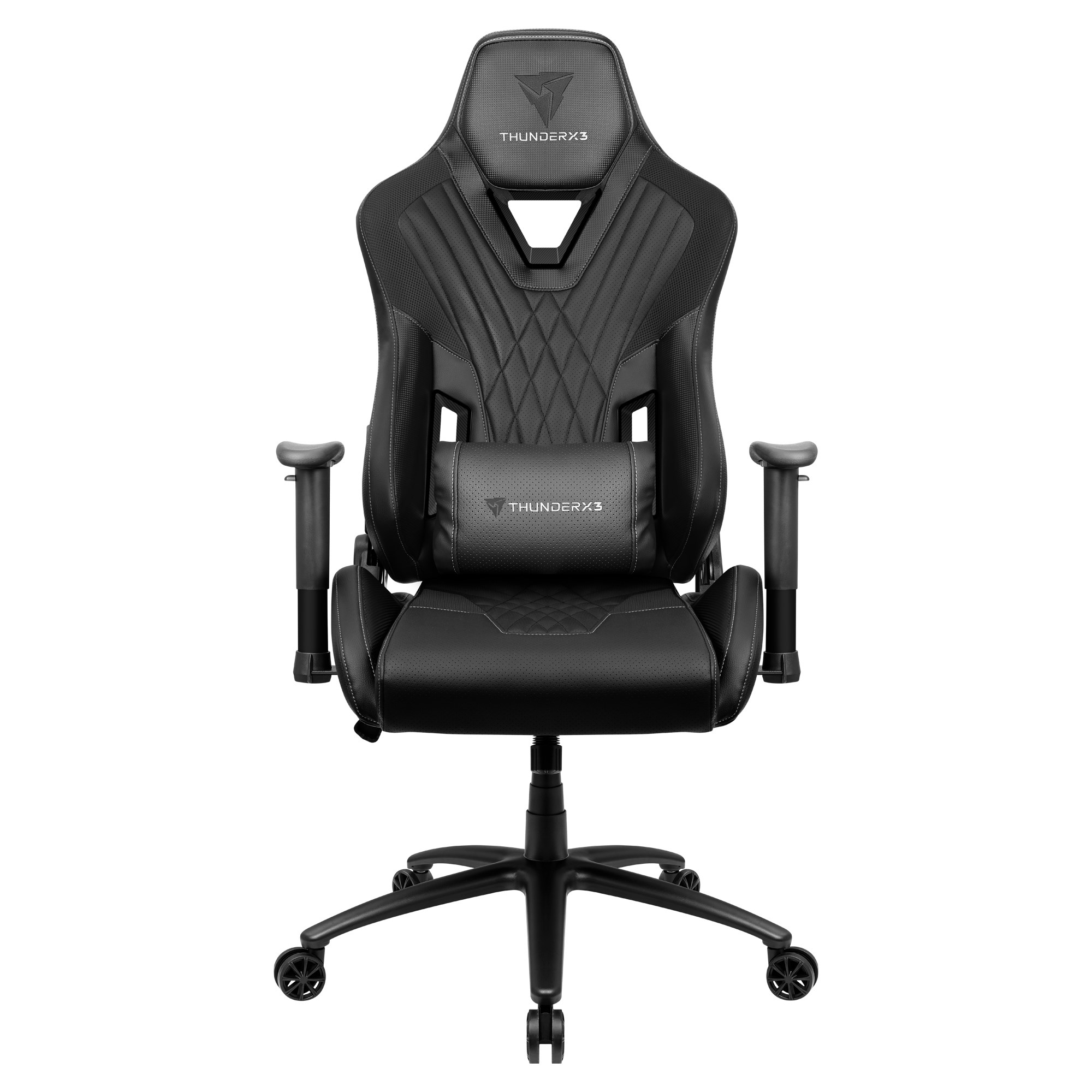 ThunderX3 DC3, Gaming Chair, Technology AIR, Breathable And Adjustable, Black