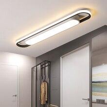 LICAN современный светодиодный потолочный+ передние фары 400/600/800 мм для гардероб проход коридор балкон блеск потолочный светильник