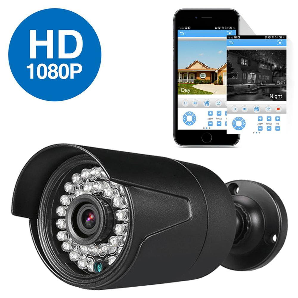 DVR комплект видеонаблюдения 2 камеры системы домашнего видеонаблюдения видео рекордер hd ночной день 2ch монитор обнаружения датчик движения ...
