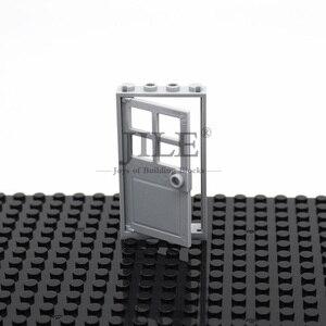 Image 5 - Moc منزل باب الإطار 1x4x6 مع بوابة ورقة 60596 لتقوم بها بنفسك بناء كتلة الطوب متوافق مجمع الجسيمات مدينة عرض الشارع