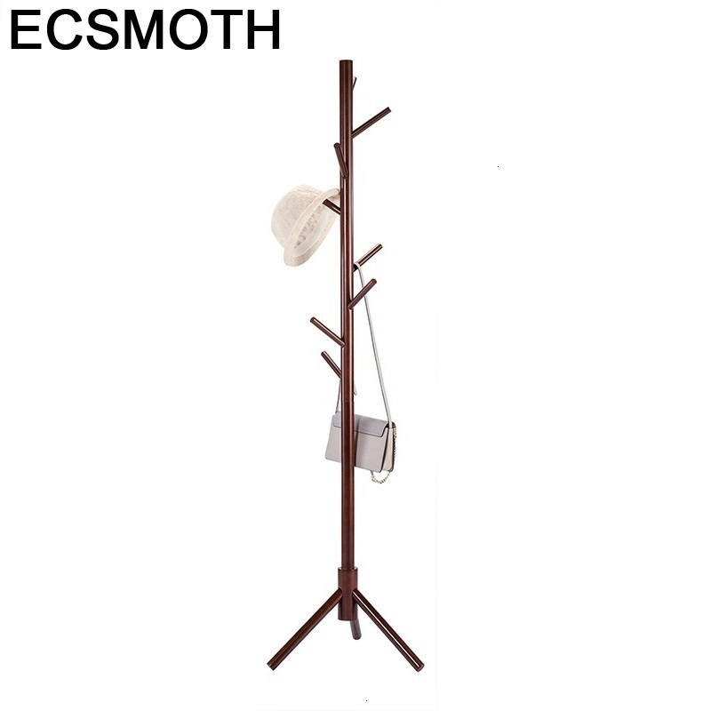 Na Ubrania Percha Decorativos Pared Rack Appendiabiti Terra Coat Stand Wood Perchero De Pie Wieszak Cintre Cabide Clothes Hanger