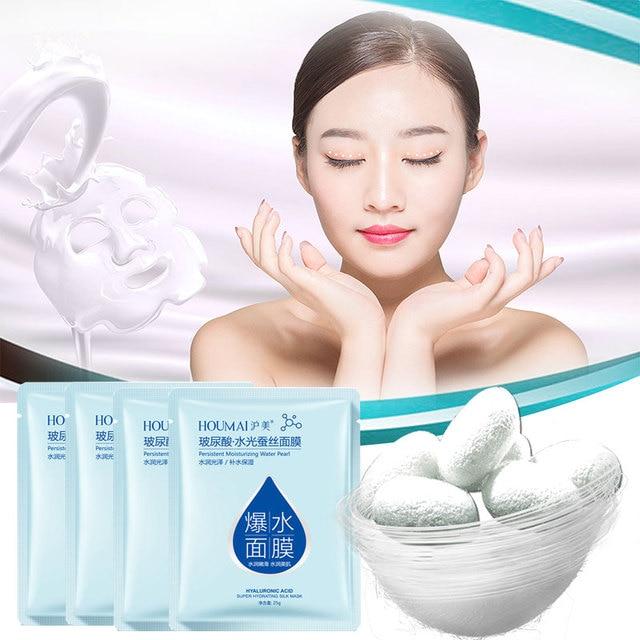 Hyaluronic acid face mask korean sheet mask Moisturizing facial mask skin care corean tony moly makeup  skincare Oil-control 1