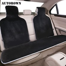 Auto-Seat-Cover Lexus AUTOROWN Universal-Size Honda Toyota for All-Car Four-seasons/Faux-fur/Auto-accessories