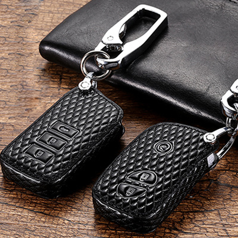 Genuine Leather Car Styling Key Cover Case For Lexus RX IS ES NX GS GX LX 300 330 350 200 250 270 470 460 570 400 450H CT200H image