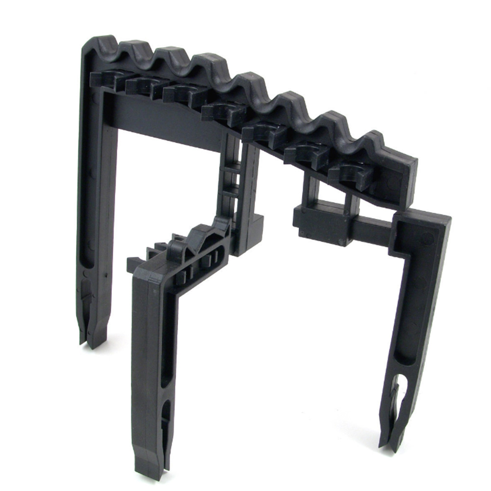 Golf Club Holder Durable Organizer Black Large Capacity Outdoor Stacker Rack Accessories Clamp Detachable Tool Training Aids