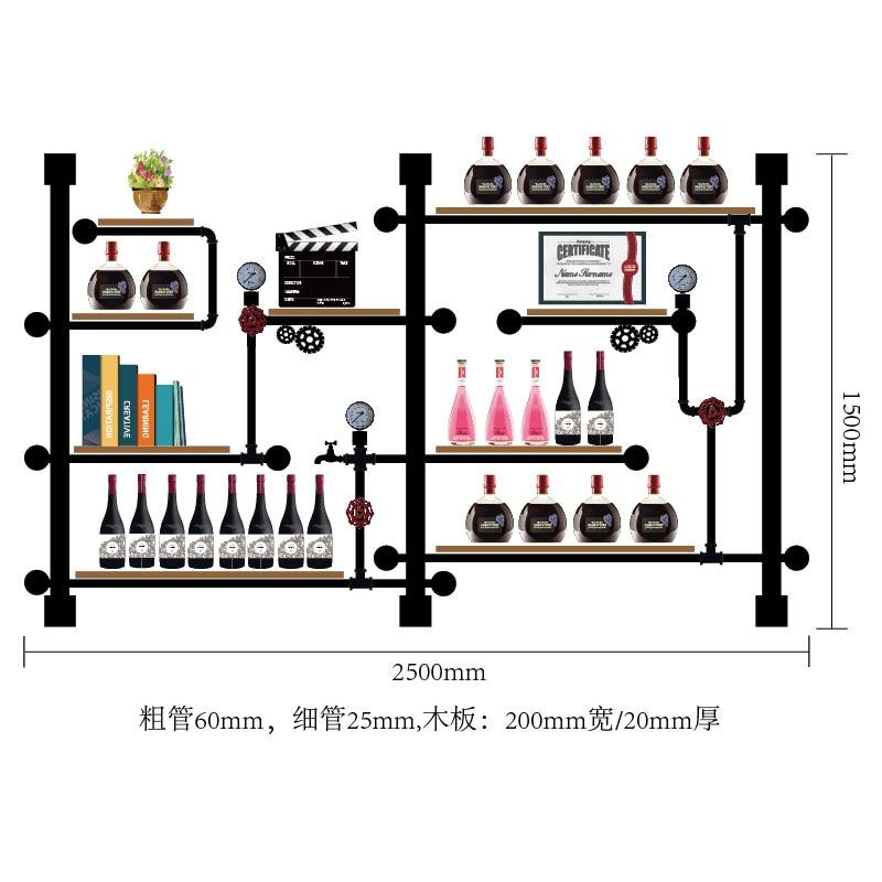 Retro Design Solid Wood Wine Rack/multi-tier Bottle Holder Elegant Wine Organizer Display Stand Large Storage CF