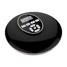 Портативный CD-плеер с Bluetooth Walkman плеер с ЖК-дисплеем аудио 3,5 мм разъем для подарка