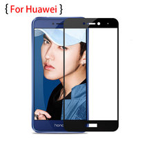replacement screen protective glass for huawei honor 8 9 10 cover case the huawey p8 p9 p20 pro 8 9 lite glas on hono phone(China)