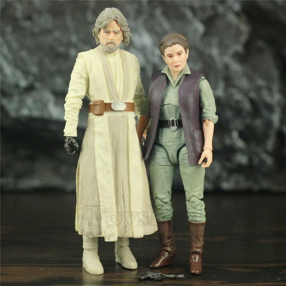 Star Wars Old Luke JD Master & General Leia Organa 6