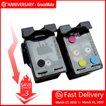 652 XL Refillable Ink Cartridge Replacement for HP Deskjet 1115 1118 2135 2136 2138 3635 3636 3835 4535