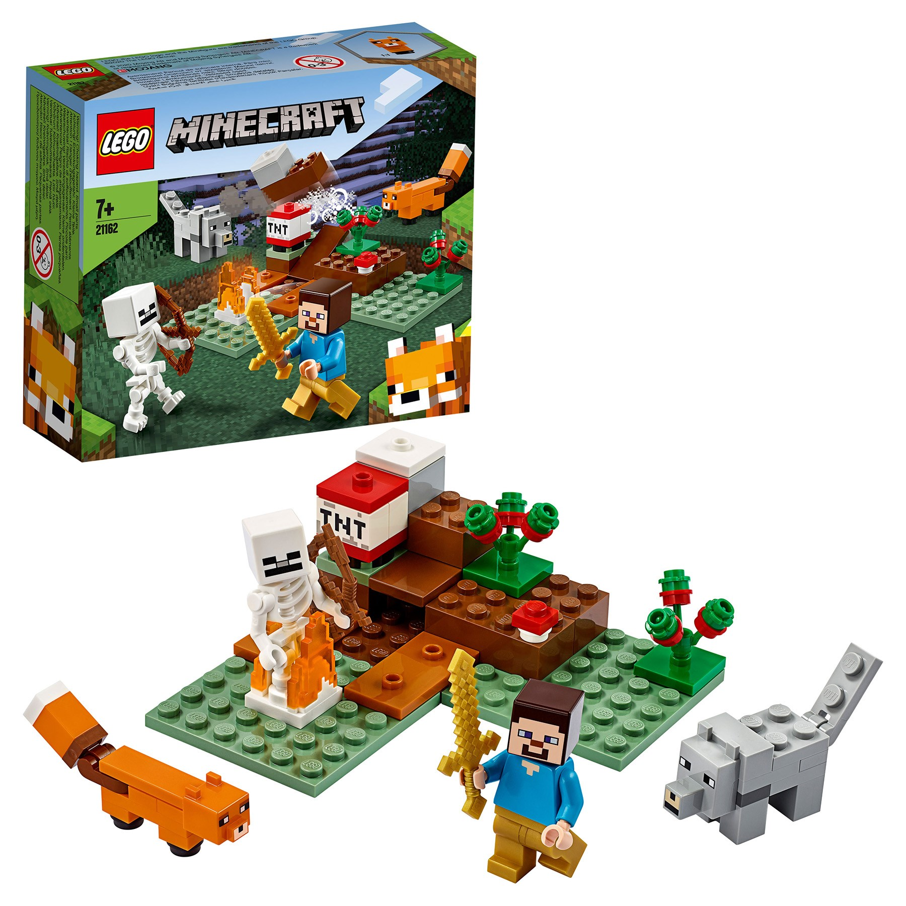 Designer Lego Minecraft 21162 Adventures In Taiga