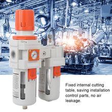 TREATMENT-FILTER Water-Separator Air-Compressor-Pressure with Pressure-Gauge Reducing
