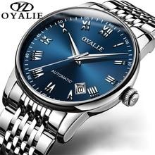 2020 Hoge Kwaliteit Luxe Merk Automatische Mannen Horloges Roestvrij Staal Waterdicht Mechanische Horloge Relogios Masculino Nh35a