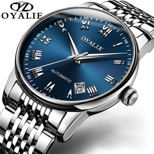 Mens Classic Automatic Watch high Quality Luxury Stainless Stell Waterproof mechanical Wristwatch Relogios Masculino