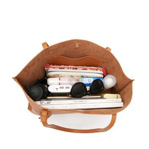 Image 4 - Women Handbag Messenger Shoulder Bags Big Leather Bag Female Black Handbag Lady Tote Crossbody Bag Popular Ladies Hand BagsGift