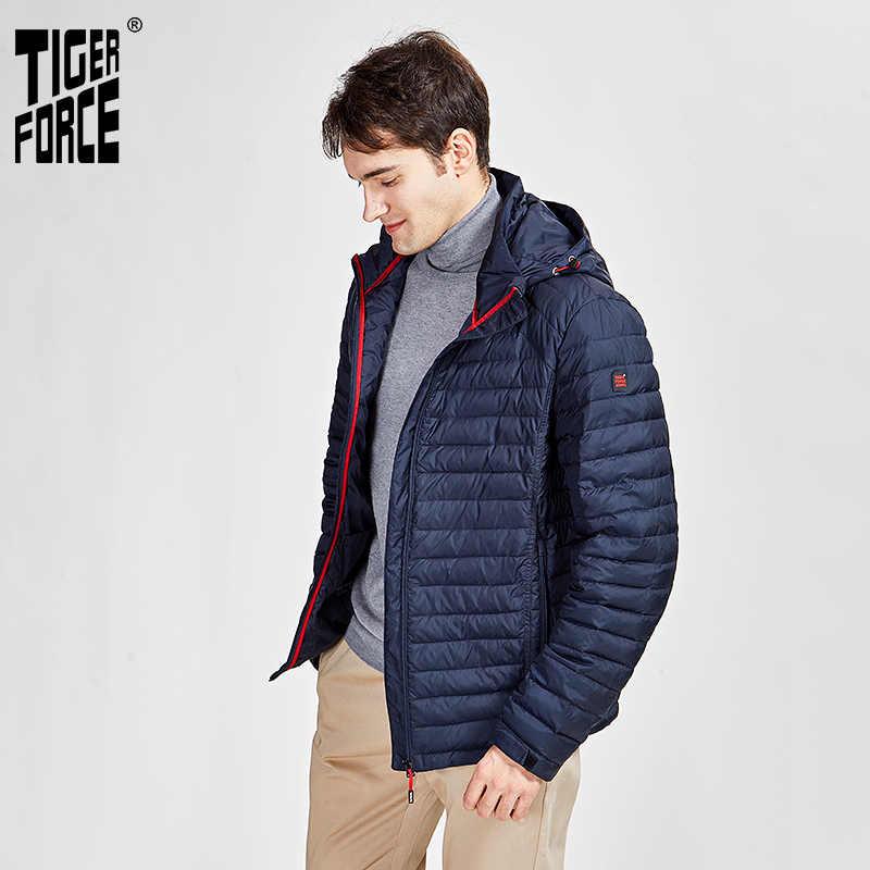 تايجر فورس 2020 سترة للربيع والخريف سترة للربيع والخريف عالية الجودة بقلنسوة خفية ملابس خارجية سحابات 50628