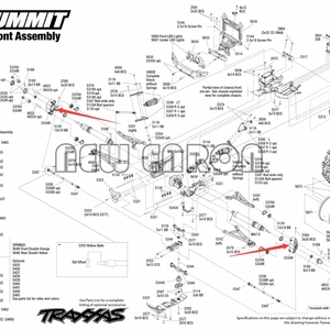 Image 5 - Nieuwe Enron #5334 Voor/Achter Aluin Steering Blok Knuckle As Dragers W/Lager Voor Rc Auto Traxxas 1/10 E REVO Summit E MAXX Revo