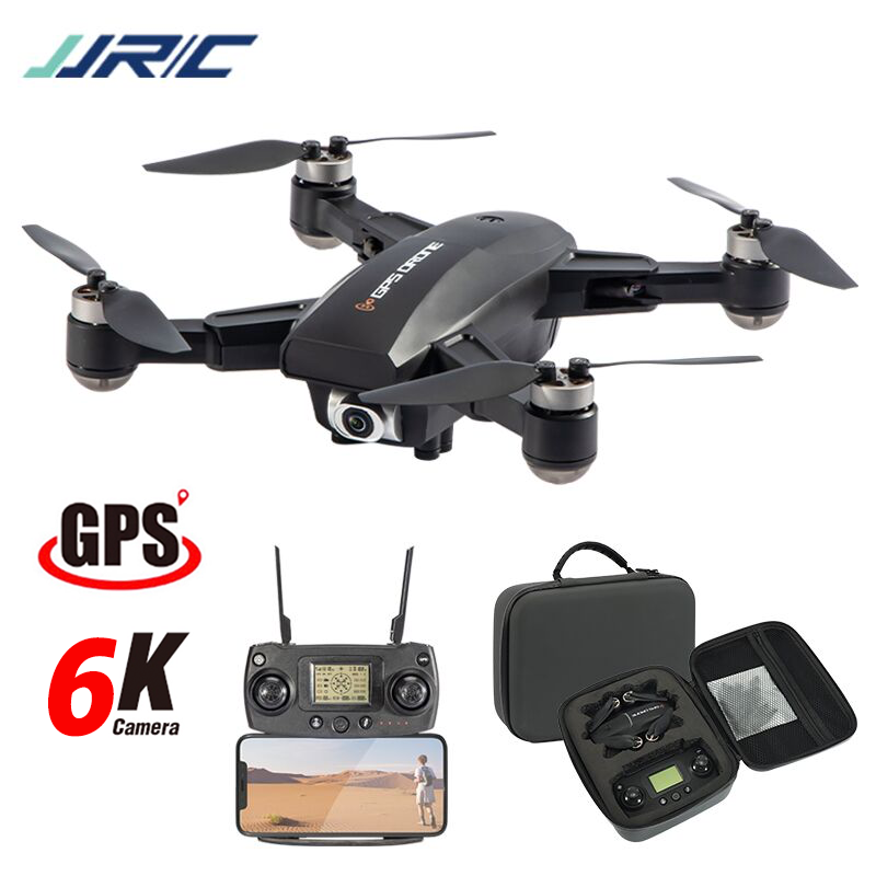 Hipac JJRC X16 RC Drone GPS with 6K Camera Remote Control Quadcopter GPS Drone Foldable Dron 25Mins Profesional Brushless Motor|RC Helicopters| - AliExpress
