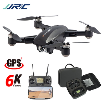 Hipac JJRC X16 RC Drone GPS with 6K Camera Remote Control Quadcopter GPS Drone Foldable Dron 25Mins Profesional Brushless Motor