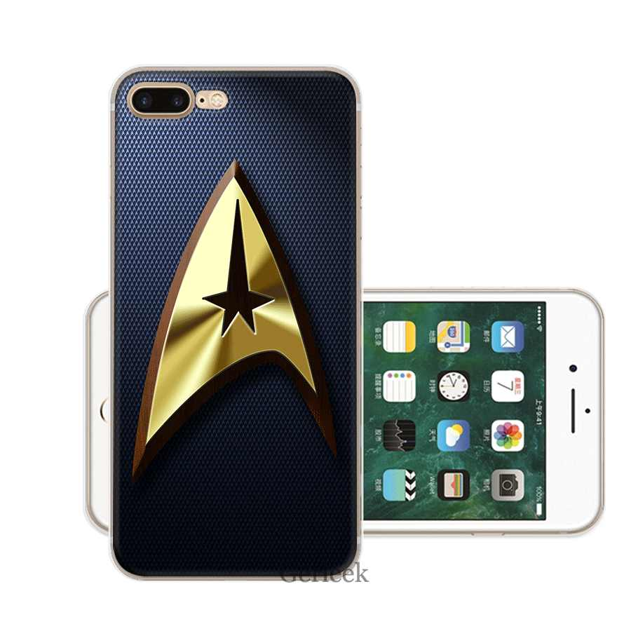 Mobile Phone Case for iPhone XR X XS Max 11 Pro XR 6 6S iPhone 7 8 Plus 5 5S SE TPU Cover Star Trek Movie