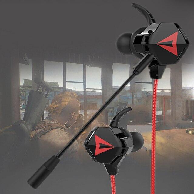 Zestaw głośnomówiący słuchawki przewodowe do PS4 gamingowy zestaw słuchawkowy Gamer 7.1 Surround słuchawki basowe słuchawki z redukcją hałasu z mikrofonem słuchawki douszne