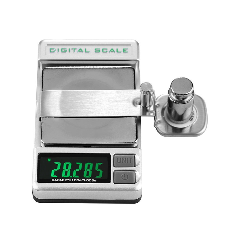 Professional High Precise Digital Turntable Force Scale Gauge Arm Load Meter LCD Backlight 0.005/100G For LP Vinyl Record Needle