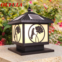 Outdoor Wall Lamps Waterproof Solar panel Modern Light Contemporary  Creative Balcony Courtyard Corridor Villa Duplex Hotel
