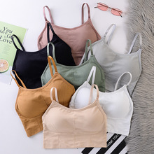 Women Bras Breathable Sports Bra Anti-sweat Shockproof Padded Sports Bra Yoga Top Athletic Gym Running Fitness Workout Sport Top