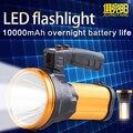 Светодиодный поисковый светильник, перезаряжаемая 10 Вт вспышка с светодиодный Вт светодиодной боковой подсветкой, USB-порт питания для быст...