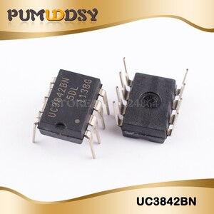 10 pçs/lote UC3842BN UC3842B UC3842 DIP novo original frete grátis