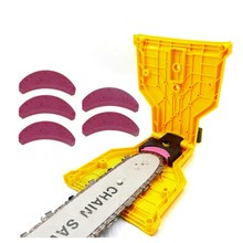 Chainsaw Teeth Sharpener Sharpens Saw Chain Sharpening Tool System Abrasive Tools Easy Durable Sharp Fast Grinding for 14-20