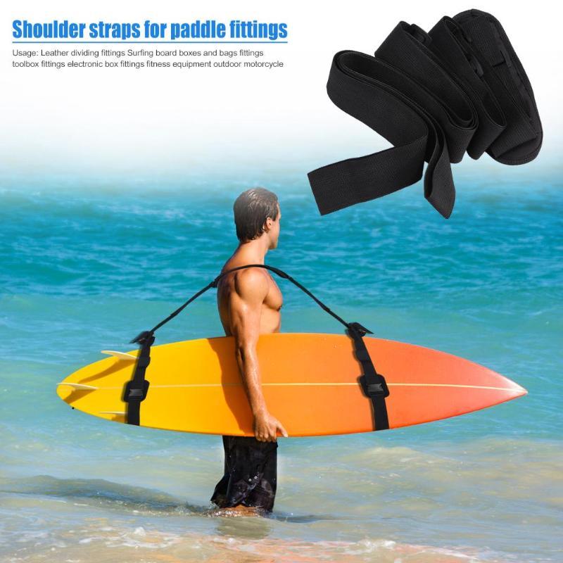 Adjustable Surfboard Shoulder Carry Sling Kayak Paddleboard Strap Outdoor board Surf fins paddle wakeboard surfing kayak Unisex in Surfing from Sports Entertainment