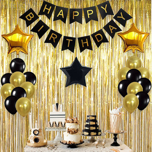 1 компл. Золотые бумажные буквы подвесные гирлянды счастливые Баннеры для дня рождения мальчик девочка ребенок душ украшения вечерние Принадлежности Декор