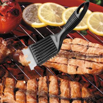 1PCS Cooking Tools Wire Bristles Cleaning Brushes Barbecue BBQ Durable BBQ Brush Tools Outdoor Grill Home Cleaning Accessor D3W3 tanie i dobre opinie KITPIPI Szczotki czyszczące Narzędzia