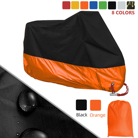capa de protecao para motocicleta capa universal resistente a agua chuva poeira para yamaha mt