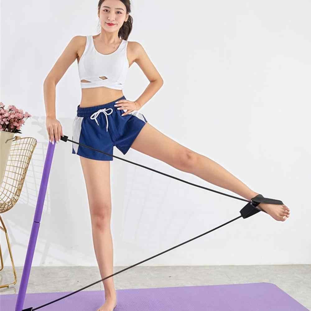 Pilates Tập Thể Dục Dính Săn Chắc Thanh Tập Yoga Cơ Thể Huấn Luyện Tập Cơ Bụng Chống Ban Nhạc Dây Kéo Kháng Thể Hình Dán