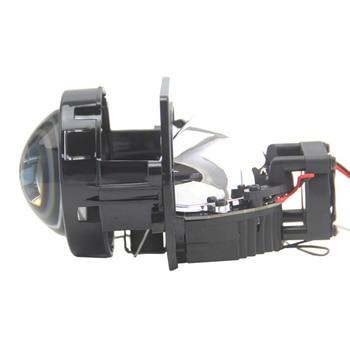 BEDEHON 2 PCS LHD RHD Bi LED Lens 3 inches Retrofit Projector for W211 Headlight Lens, for e92 bmw f02 f13 e87 angel eyes aes kingkong f1 hella 5 bi xenon blue or high clear projector lens 3 0 inch lhd rhd projector lens retrofit modified headlight