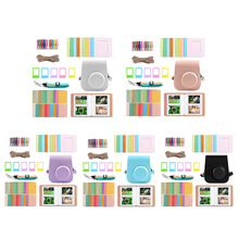 Camera Accessories Set for Instax Mini 11 PU Leather Bag Protector Case Cover Photo Album Wall Hanging Frames Polaroid Paper