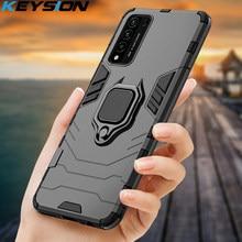 KEYSION Stoßfest Fall Für Honor 10X Lite 20 10i 8X Telefon Abdeckung für Huawei P40 Pro P Smart 2021 Y7A y9A Y8S NOVA 8 SE P30 Lite