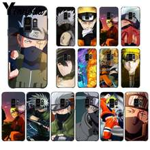 Yinuoda Hokage Naruto Kakashi Japanese anime DIY Luxury High-end Protector PhoneCase for Samsung GALAXYS5 6 7 EDGE PLUS 8 9 PLUS(China)