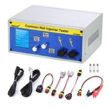 Piezo inyector diésel multifunción LCD grande CIT800, probador, controlador de inyector electromagnético, tester de inyector common rail